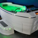 luxurious tub with underwater hydrotherapy RMS