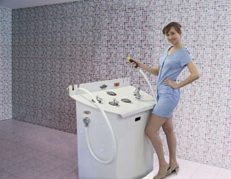 Charcot Shower models B, C, D