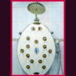wall shower panel Triple Shower