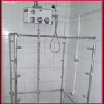 Combination Swiss Shower Low Stool